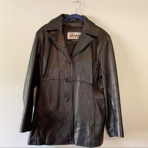 Pelle Studios Wilson's Leather Jacket Coat Vintage